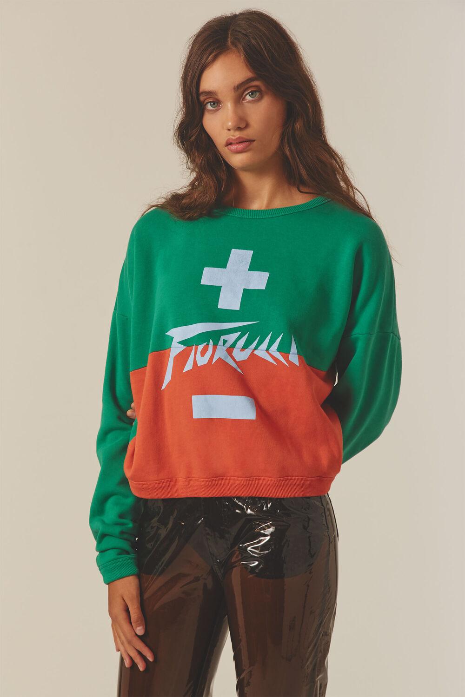 High Voltage Crop Sweatshirt