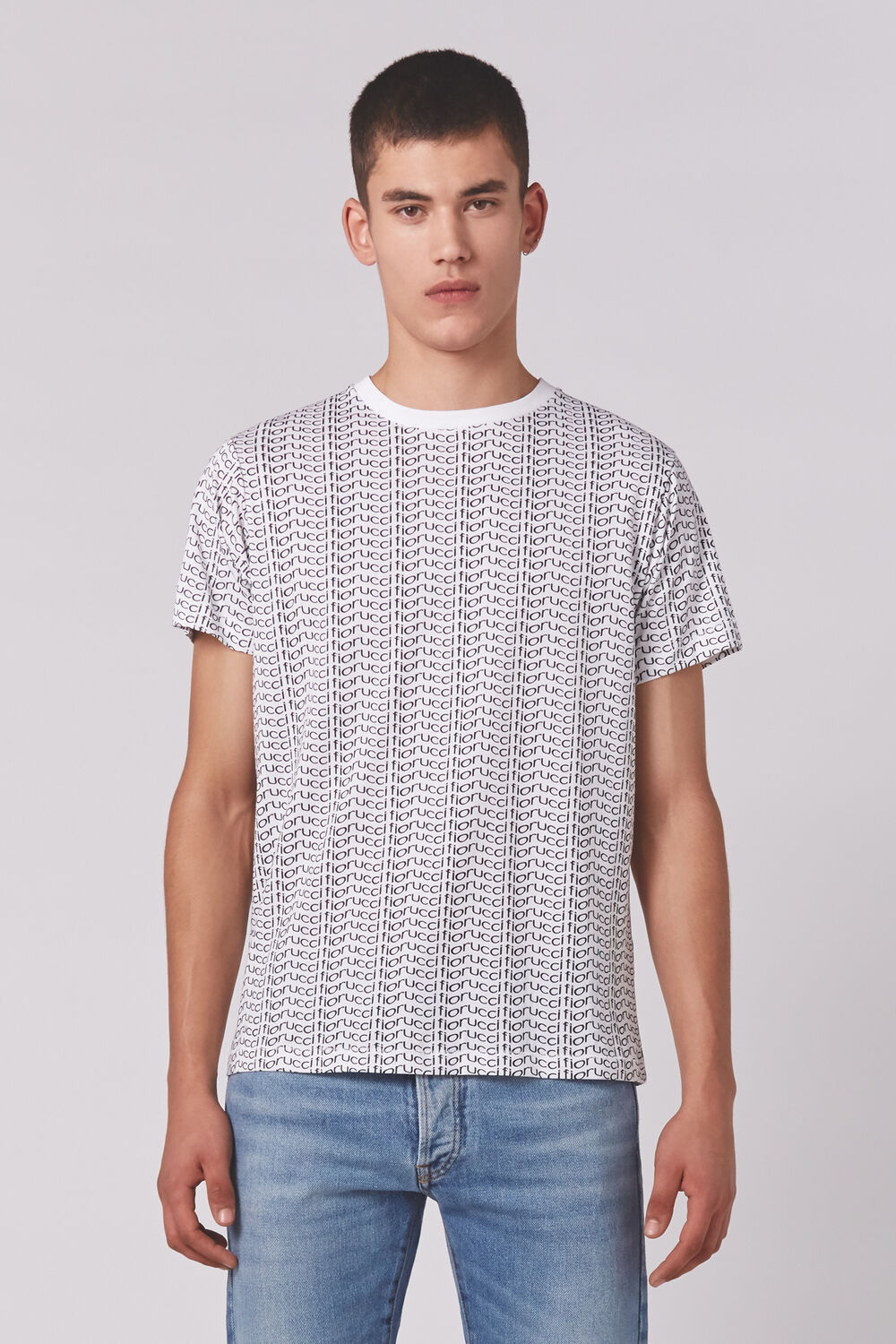Classic Wavey All Over T-Shirt