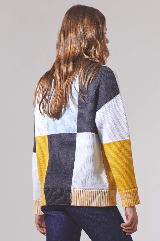 Angels Mock Neck Sweater