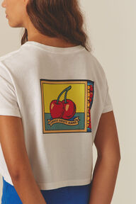 Cherries Crop T-Shirt