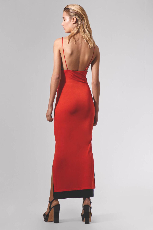 Bicolour Evening Dress