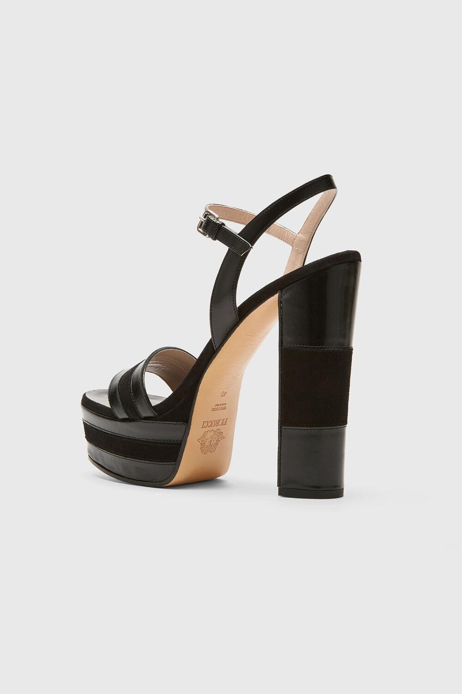 Platform Sandal Black