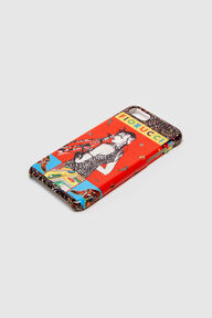 Red Girl & Tigers iPhone Case
