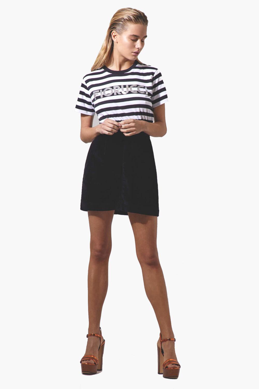 Viki Velvet Mini Skirt