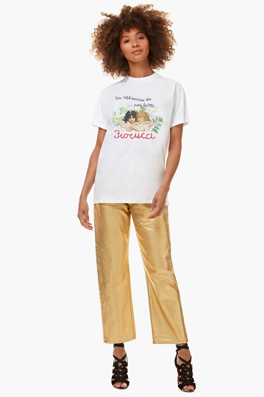 Fiorucci Worldcare Charity T-Shirt White