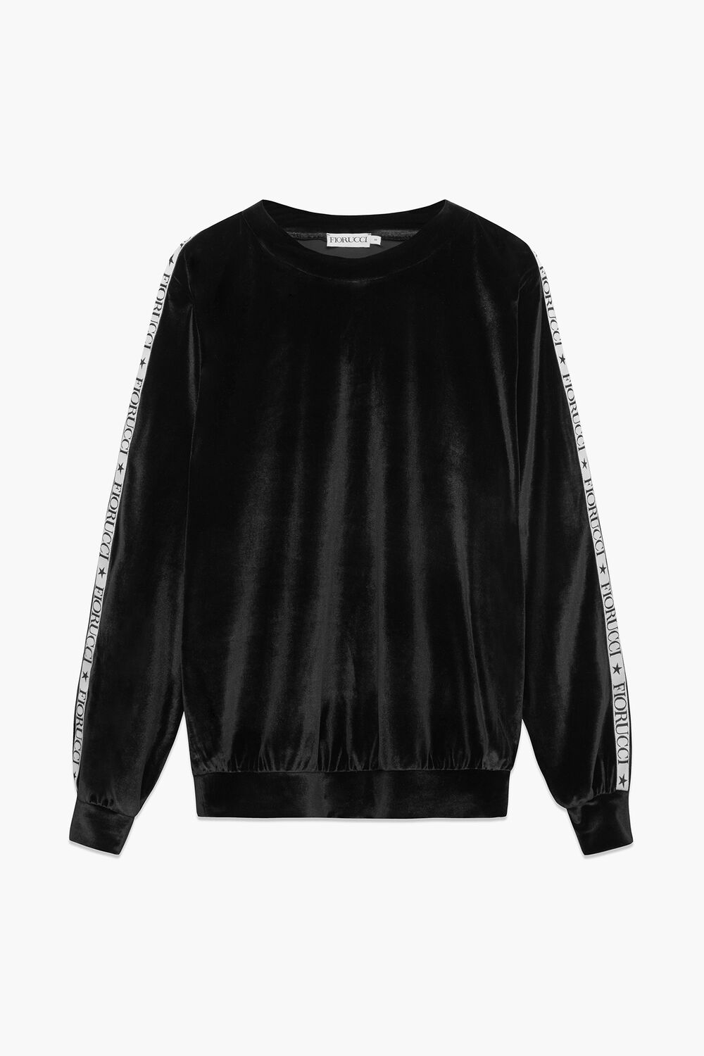 Velour Top Black