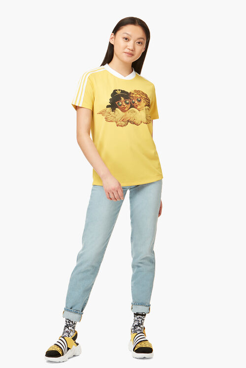 Adidas x Fiorucci Angels Graphic T-Shirt Yellow