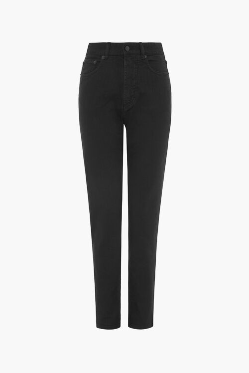 Tara Tapered Jean Black