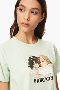Vintage Angels T-Shirt Mint Green