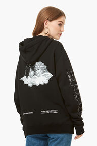 New York Angels Hoodie Black
