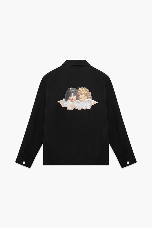 Carter Angel Patch Jacket Black