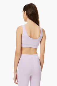 Angels Crop Top Lilac