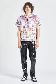 Panini Print Bowling Shirt Multi