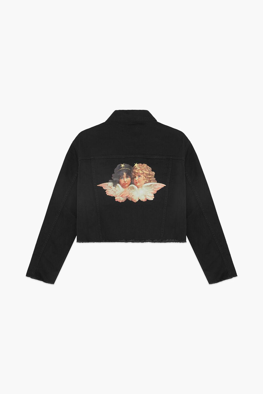 Berty Angel Patch Jacket Black