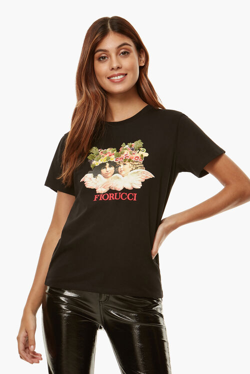 Angels Fruit T-Shirt Black