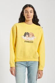 Angels Sweatshirt Yellow