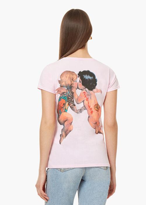 Tattoo Angels T-Shirt Pink