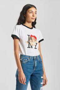 I Love NY Angels T-Shirt White