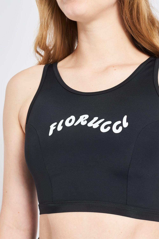 Fiorucci Wave Logo Vest Black