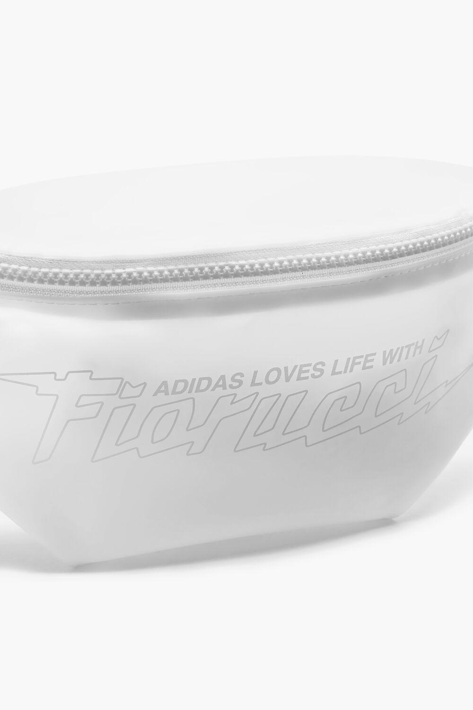 Adidas x Fiorucci Clear Bumbag White