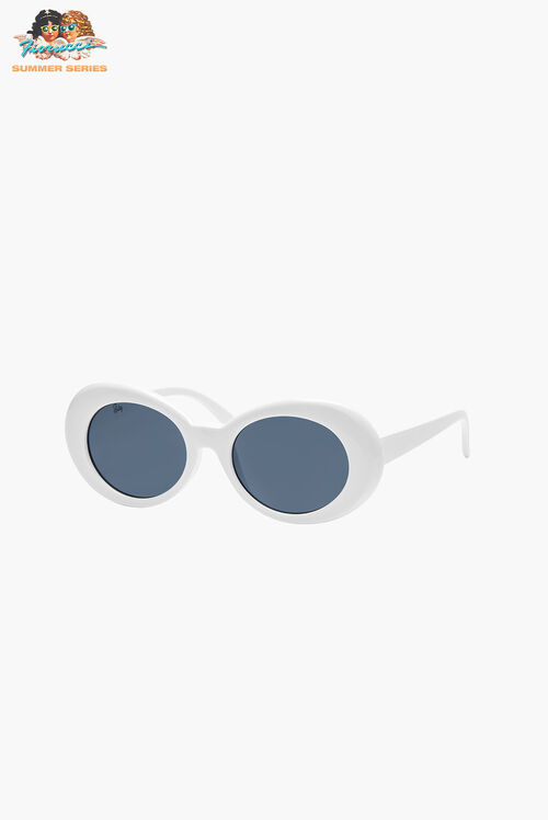 Reality Eyewear Festival Of Summer White Sunglasses