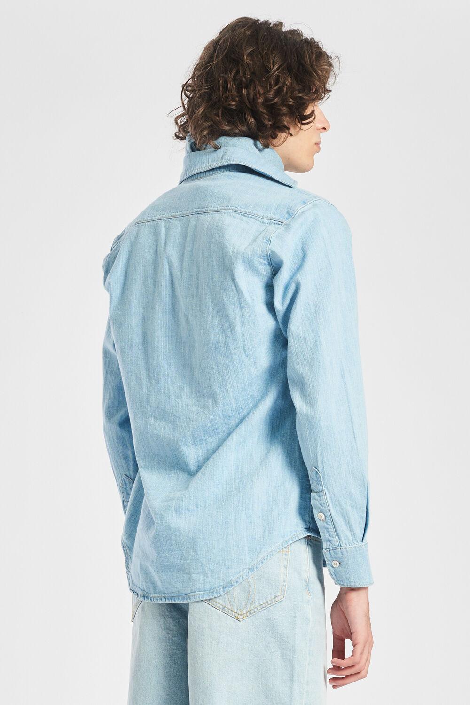 Icon Angels Denim Shirt Blue