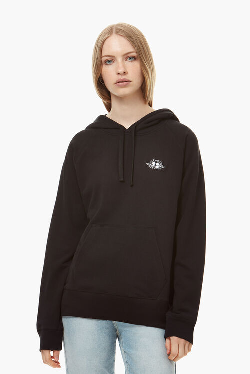 Icon Angels Patch Hoodie Black