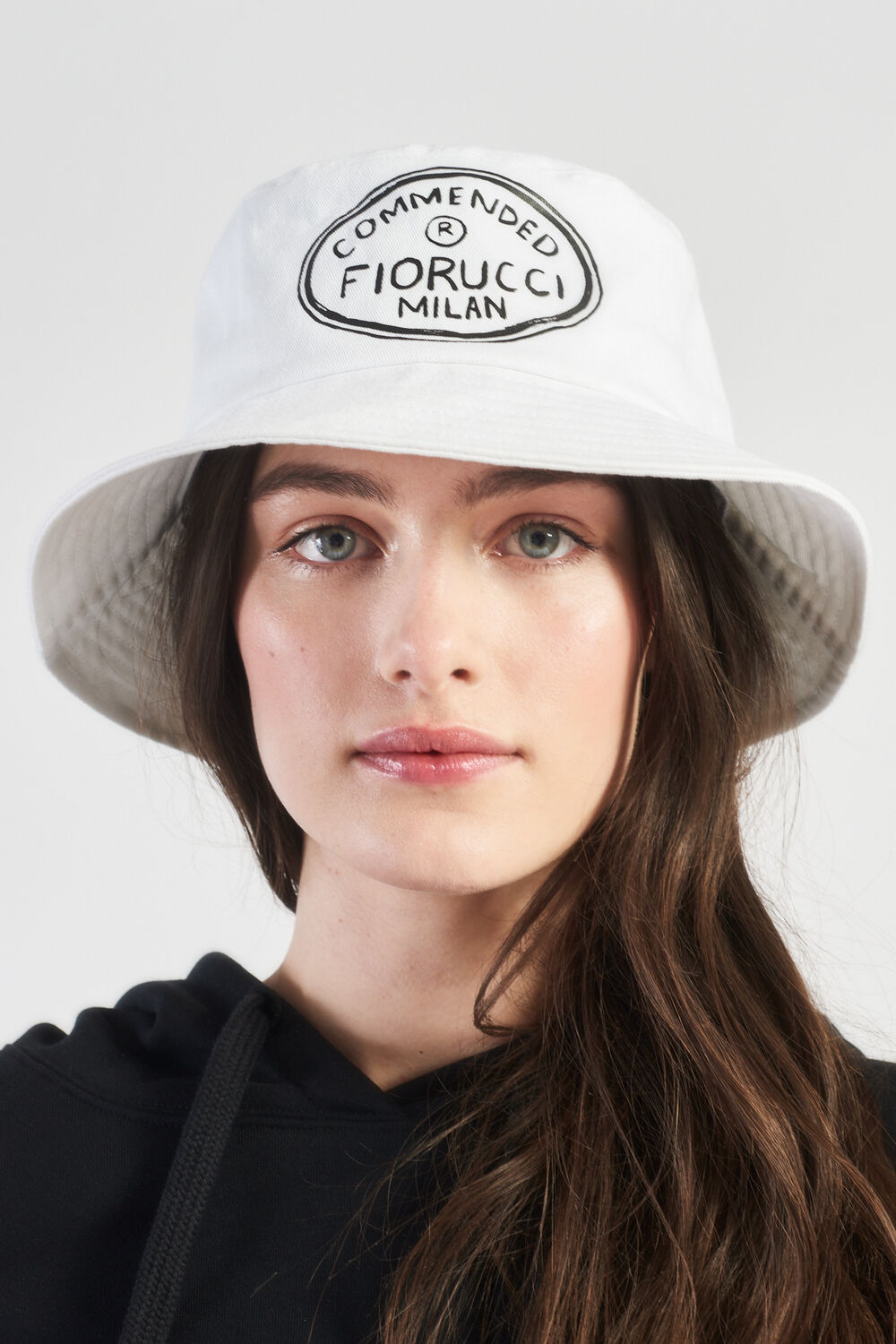 Commended Bucket Hat White