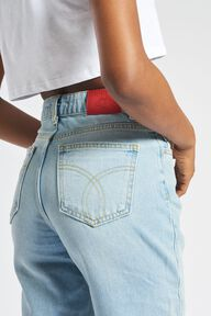 Tara Tapered Jean Blue