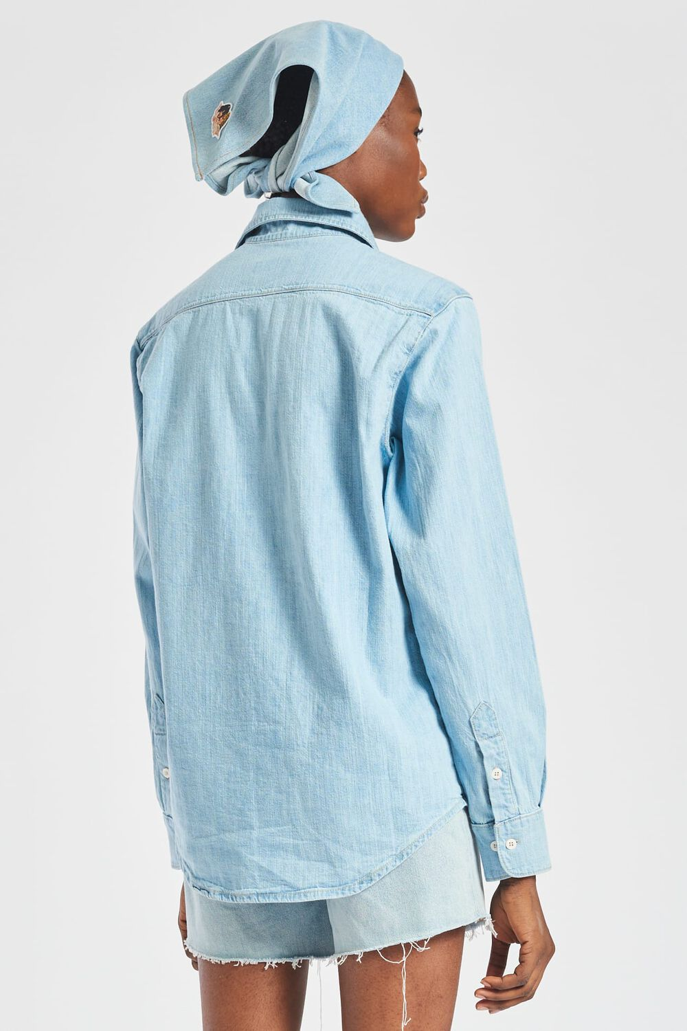 Icon Angels Denim Shirt Blue