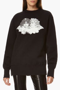 Black & White Angels Sweatshirt
