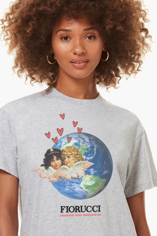 Fiorucci Worldcare Charity T-Shirt Grey