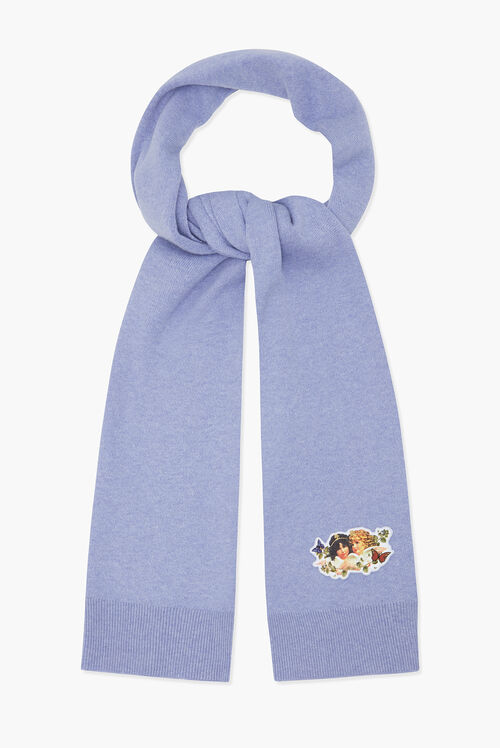 Woodland Angel Scarf Lilac