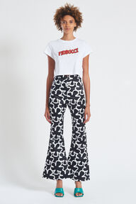 Bang Crop T-Shirt White