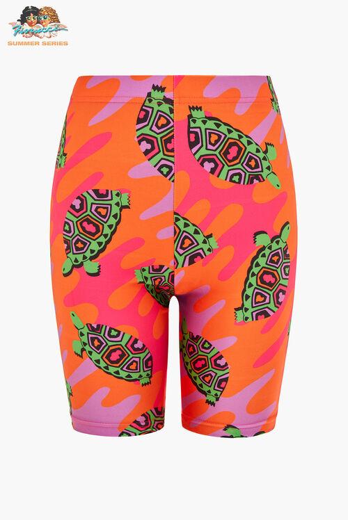 Tara Khorzad Tortoise Shorts Orange