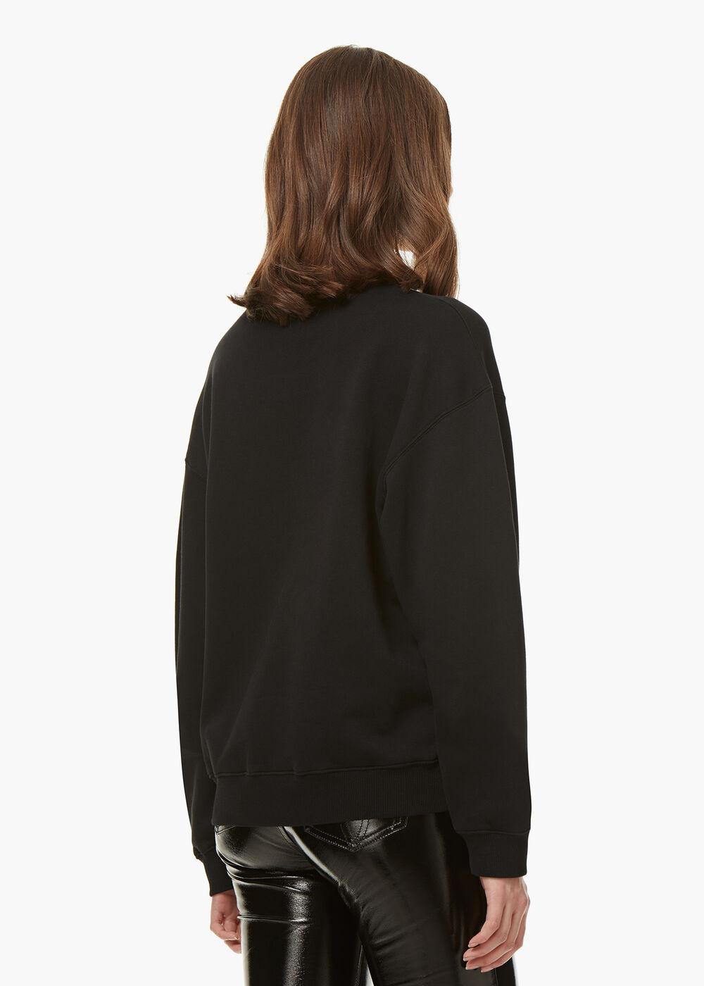 Angels Sweatshirt Black