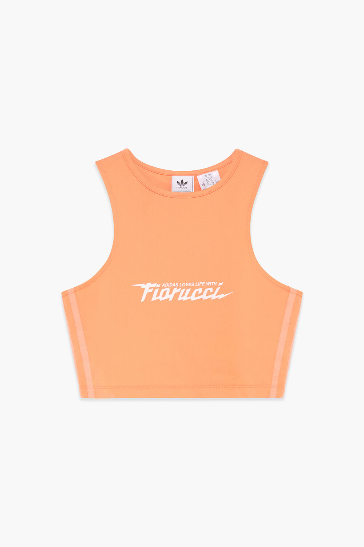 Adidas x Fiorucci Sports Bra Peach