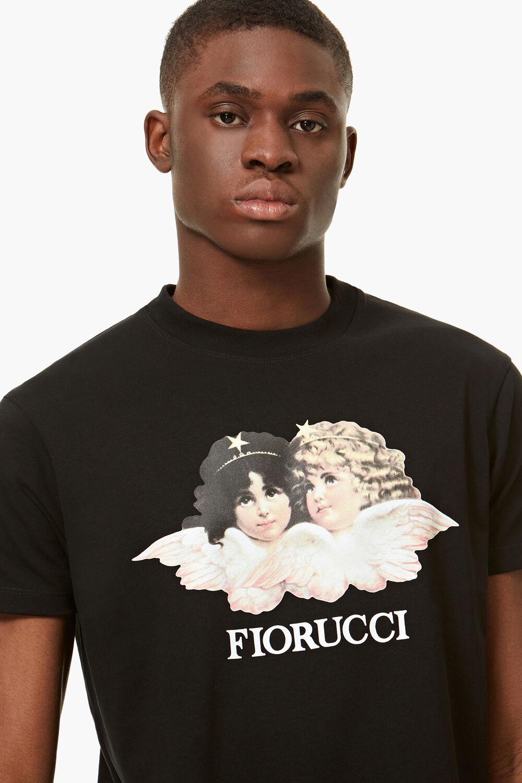 Vintage Angels T-Shirt Black