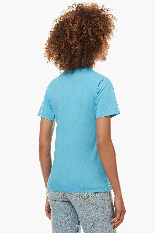 Angels UFO Graphic T-Shirt Blue