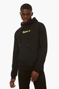 Spaceship Graphic Hoodie Black