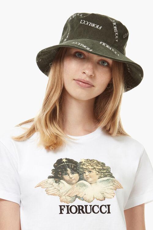 Cord Logo Bucket Hat Green
