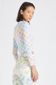 Rainbow Angels Long Sleeve Top White