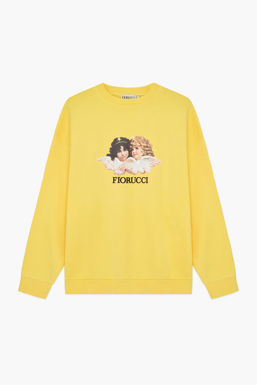 Vintage Angels Sweatshirt Yellow