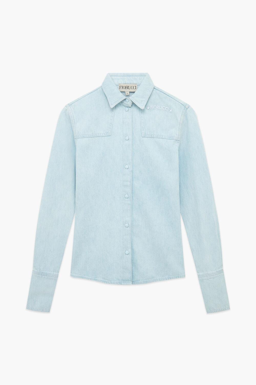 Jockey Denim Shirt Blue