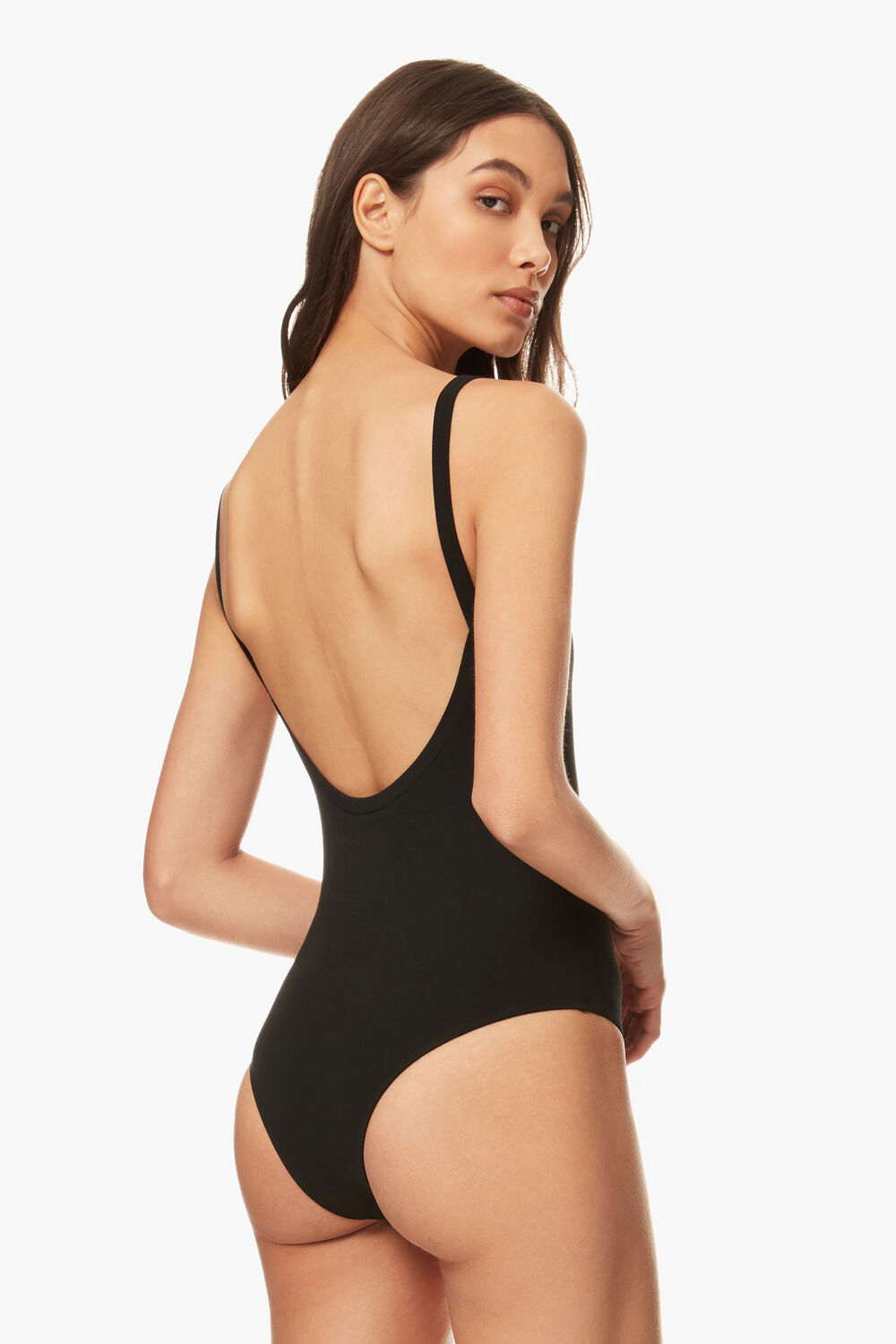 Angels Bodysuit Black