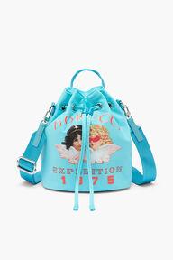 Snow Angels Pouch Bag Blue
