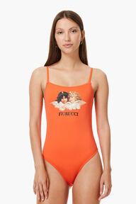 Angels Swimsuit Blood Orange