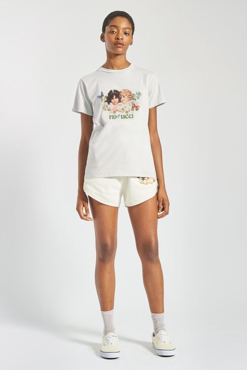 Woodland Angels T-Shirt Off White