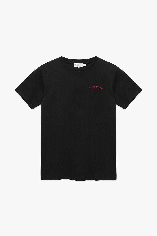 Star Graphic Logo T-Shirt Black