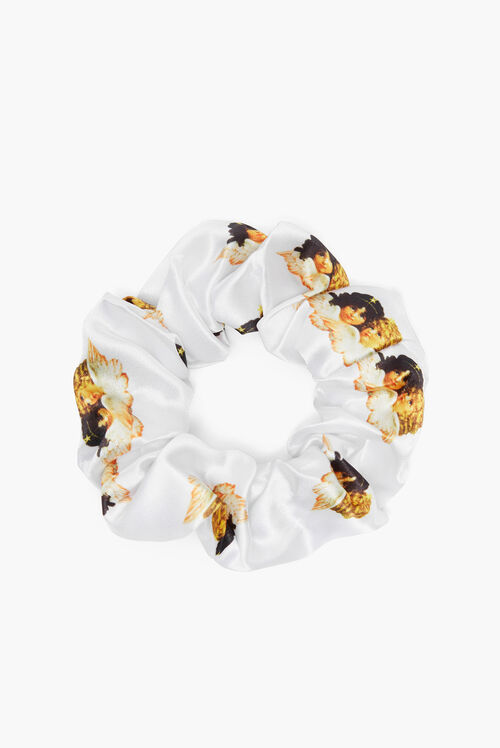 Angels Scrunchie White